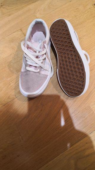 zapatillas vans rosa numero 32