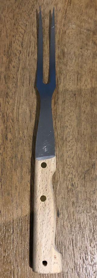 Fourchette de cuisine courbée 28,8 cm de long