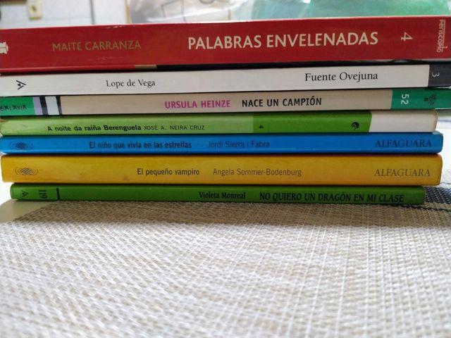 Libros de lectura infantil / juvenil
