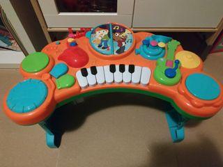 teclado piano musical para niños y bebes