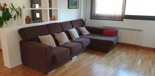 Sofá 4 plazas con chaise-longue