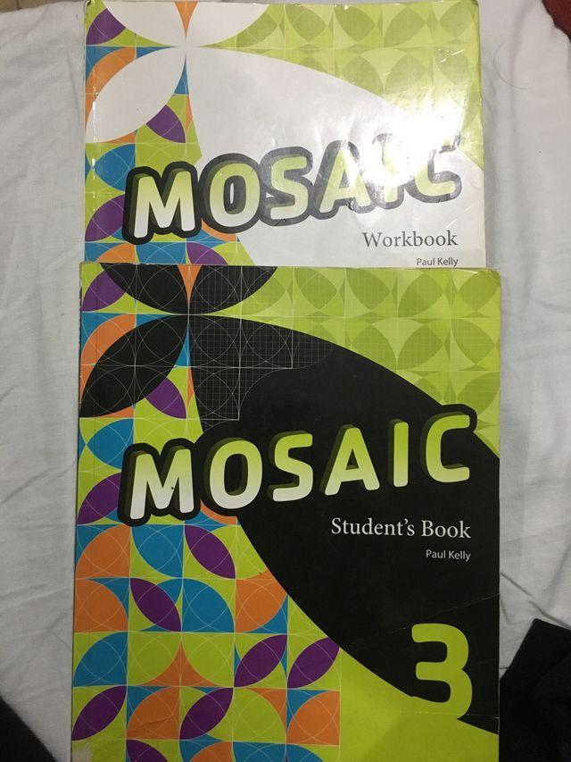 Libros 3 eso de inglés MOSAIC