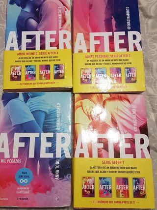 Coleecion After. Del 1 al 4