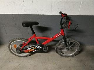 Bicicleta niño rueda 16 pulgadas
