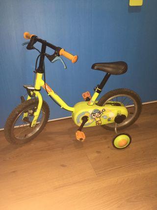 bicicleta para edad 3 a 8 años Decathlon