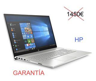 HP portátil HP Envy 17 pulgadas + Garantía NUEVO