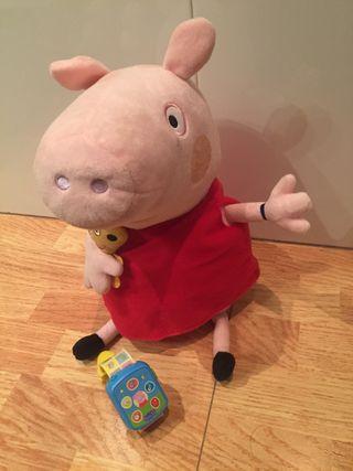 Peppa pig y su smartwatch interactivo