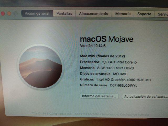 Mac Mini 2012