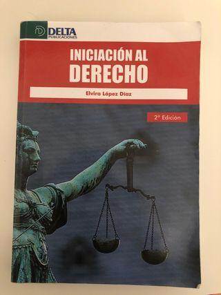 Libro Iniciación al Derecho