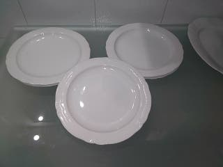 bajoplatos porcelana
