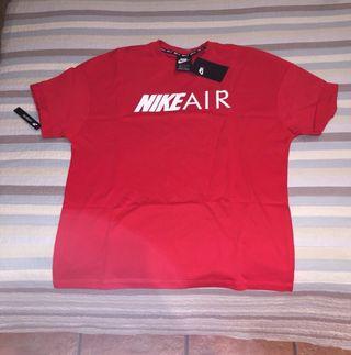 Camiseta Nike Air roja
