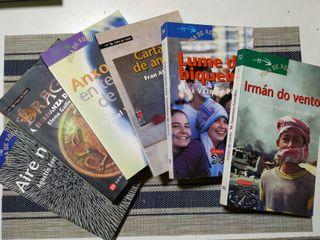 Libros lectura juvenil gallego - Xerais