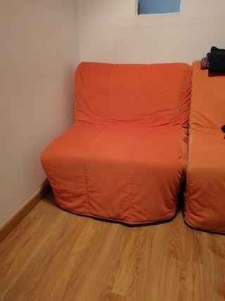 sofá cama 90cm