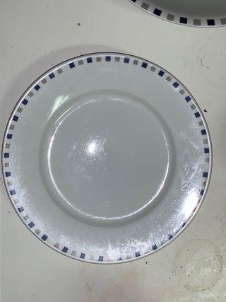 Vajilla porcelana 39 piezas
