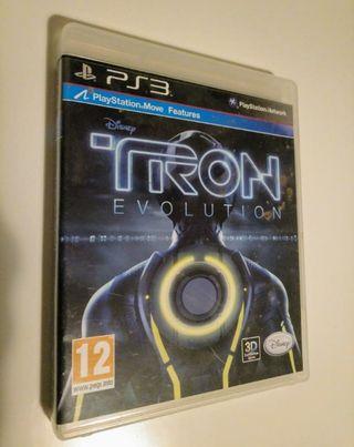 TRON EVOLUTION : VIDEOJUEGO PS3.