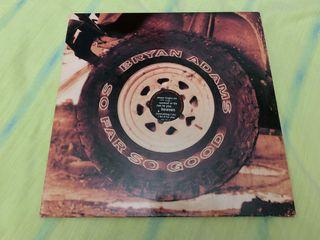 BRYAN ADAMS SO FAR SO GOOD Disco vinilo LP 1993