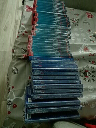 COLECCION COMPLETA INGLES AUDIO Y DVD +LIBRO