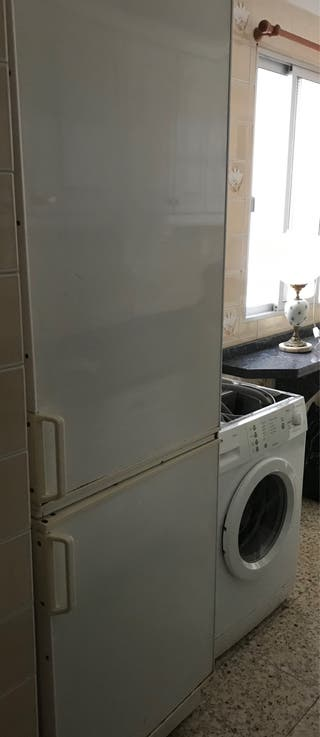 Lavadora y frigorífico