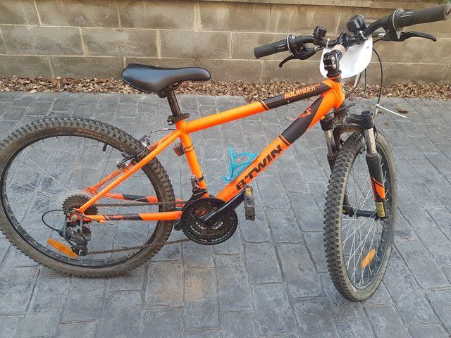 "bicicleta rockrider 500 24"" niño"