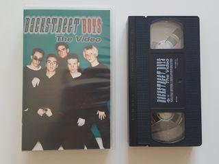 BACKSTREET BOYS, The Video - Cinta VHS