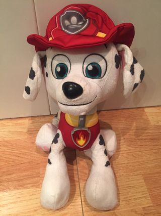 patrulla canina marschall interactivo 30cm