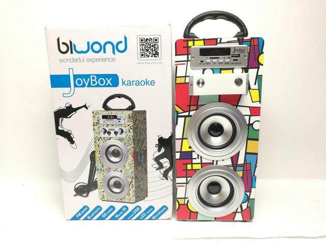 Altavoz Bluetooth Biwond Joybox Karaoke Pica 94415
