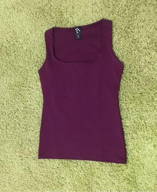 Camiseta elástica Zara