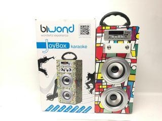 Altavoz Bluetooth Biwond Joybox Karaoke Pica 94416