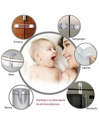 Sistema de seguridad cierre muebles para bebés