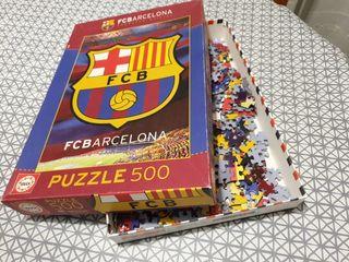puzle Educa FCB com nou.