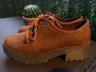 Zapatos plataforma Terciopelo