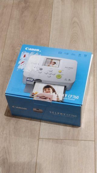 impresora fotos canon selphy cp760