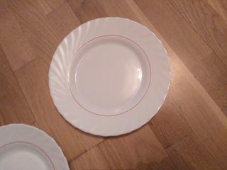 16 platos arkopal loza más fuente