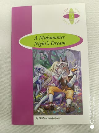 Libro: A Midsummer Night's Dream (Inglés)