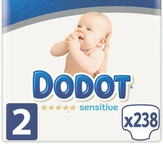 Pañales Dodot Sensitive Talla 2