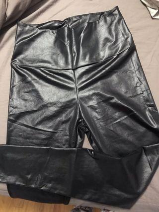 Leggings NUEVOS! efecto cuero talla S/M