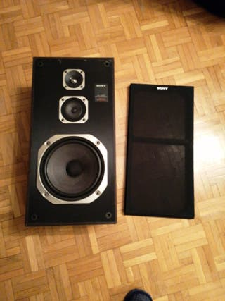 altavoces para amplificador Sony e400