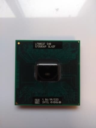 CPU Intel Celeron 540 1,86Ghz 1M 533Mhz SLA2F