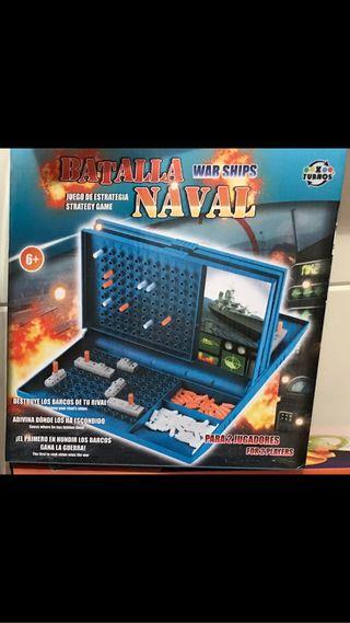 Juego batalla naval sin abrir por dupuesto!
