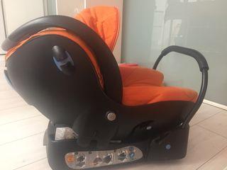 Maxicosi y base de seguridad Bebé confort
