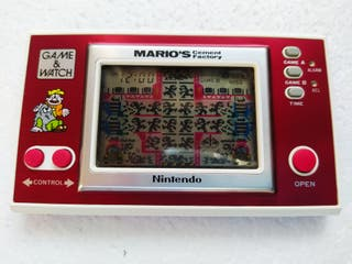 GAME WATCH MARIO'S CEMENT FACTORY