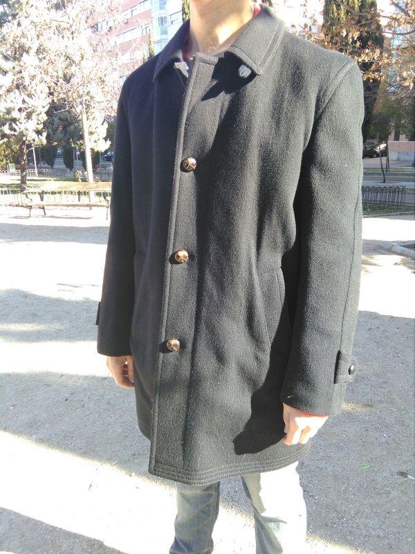 abrigo Loden talla 50