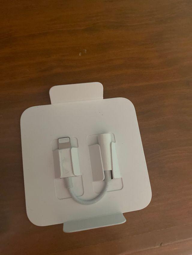 Adaptador auriculares iphone,lightning