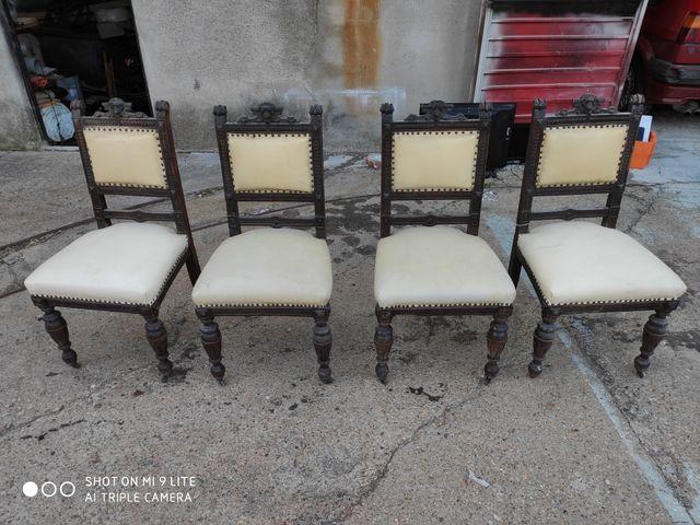 sillas antigua vintage