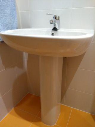 lavabo con pie Duravit