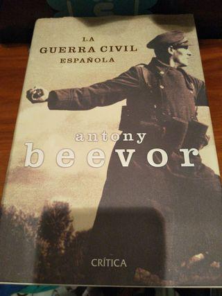 Libro La Guerra Civil Española. Antony Beevor