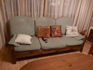 2 sofás de dos y tres plazas