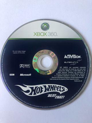 Juego de carrera - hotwheels - juego Xbox 360