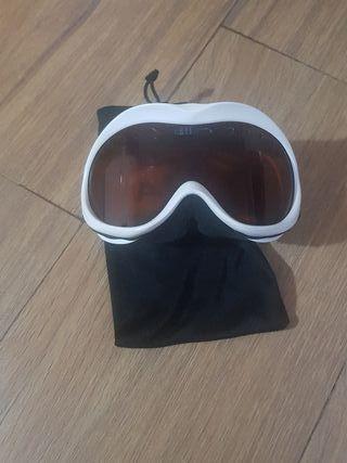 gafas de esquí y snow