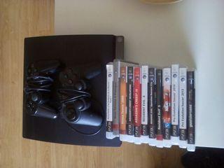 PlayStation 3 + 12 juegos originales